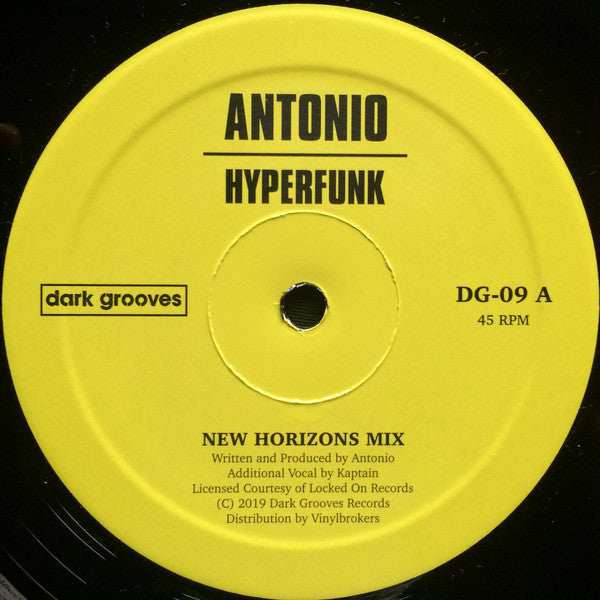 Antonio ‎– Hyperfunk