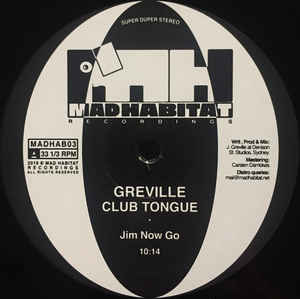 Greville ‎– Club Tongue
