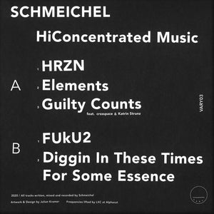 Schmeichel ‎– HiConcentrated Music