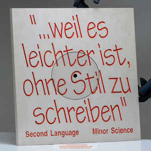 Minor Science ‎– Second Language