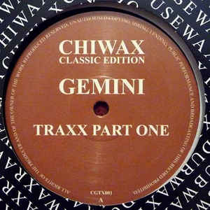 Gemini ‎– Gemini Traxx Part One