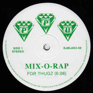 Mix-O-Rap ‎– For Thugz