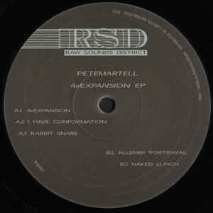 PeteMartell ‎– 4xExpansion EP