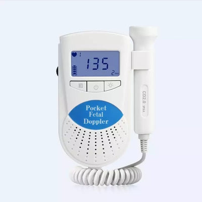 Baby Heart Beat Rate Monitor Fetal Doppler