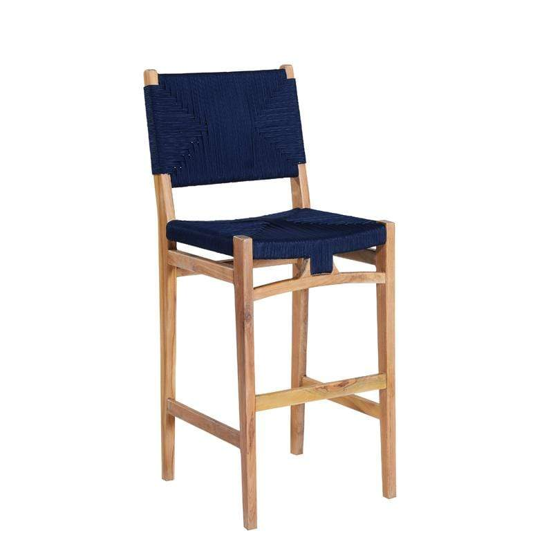 MARILOU SHOP Coming Soon - End May Bari Dark Blue Stool