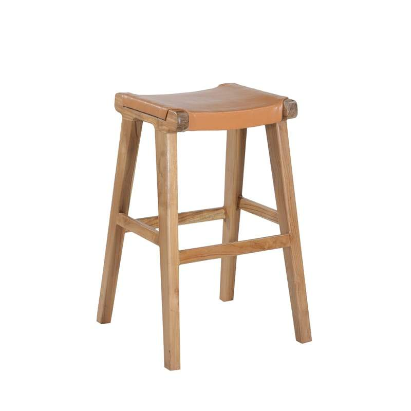 MARILOU Shop Stools Kan Stool Leather