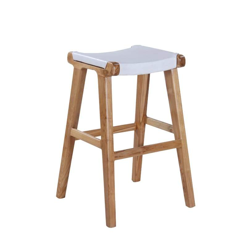 MARILOU Shop Stools Kan Stool White