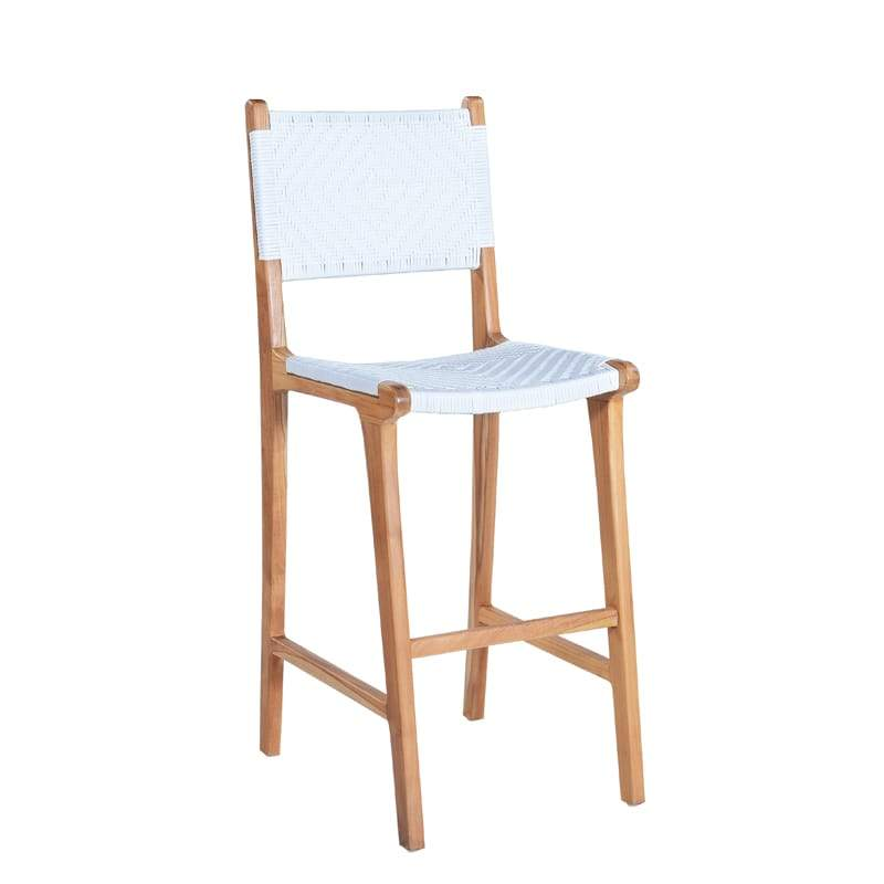 MARILOU Shop Chairs Milan White Stool
