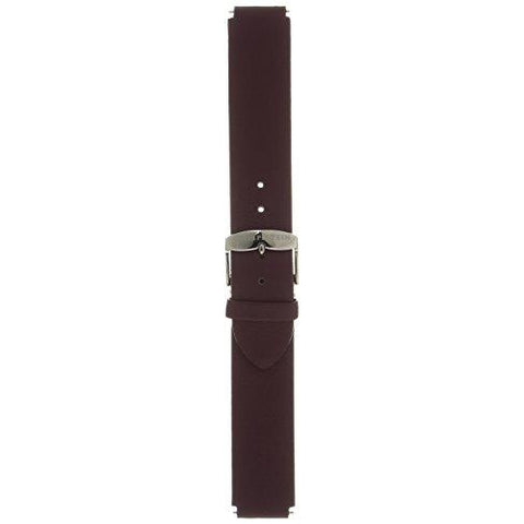 Philip Stein 1-MSPR 18mm Leather Calfskin Purple Watch Strap