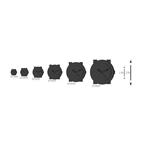 Philip Stein Unisex PS-DAYNIGHT7 Analog Display Japanese Quartz Black Watch Set