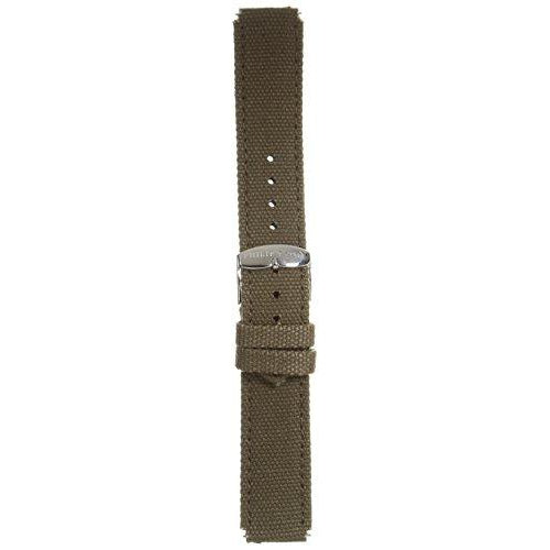 Philip Stein 2-TCO 20mm Leather Calfskin Green Watch Strap