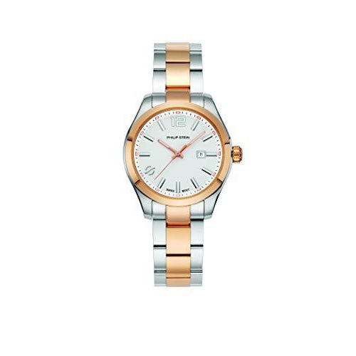 Philip Stein Dress Watch (Model: 91TRG-CMWHT-SSTRG) - ShopMilano