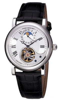 Frederique Constant Manufacture Heart Beat Limited Edition FC-915MC4H6 Mechanical Silver quandrante Steel Leather Strap