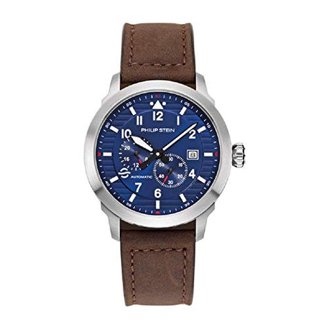 Philip Stein Men's 43mm 700A-BLA-CSCH Skyfinder Automatic Watch