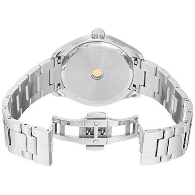 Philip Stein Men's Traveler Swiss-Quartz Watch with Stainless-Steel Strap, Silver, 9 (Model: 92-GMTWRG-SS)
