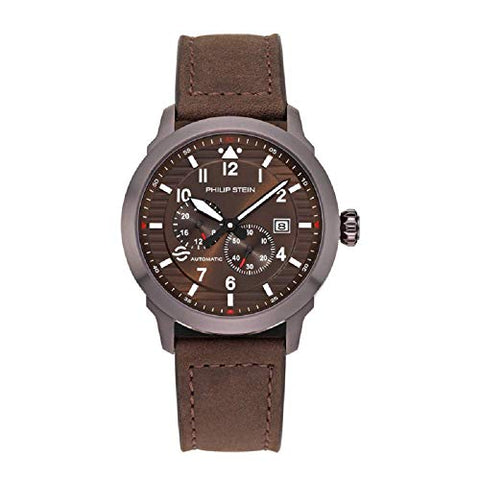 Philip Stein Men's Skyfinder Automatic Watch - Model 700A-BLA-CSCH