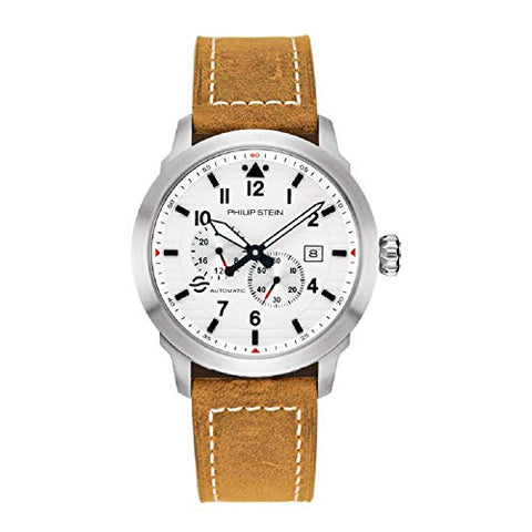 Philip Stein Men's Skyfinder Automatic Watch - Model 700A-WHTA-CSWT