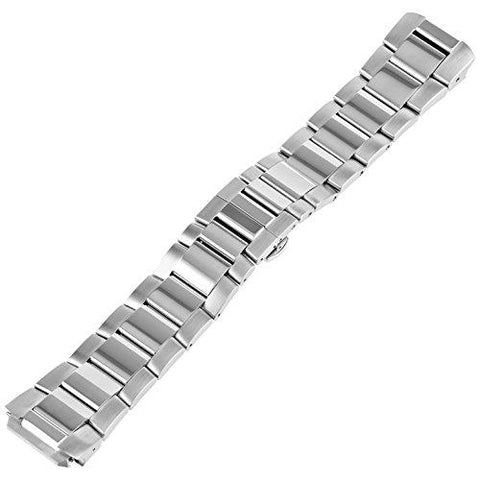 Philip Stein 3-SS 22mm Stainless Steel Silver Watch Bracelet