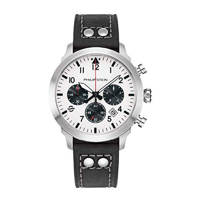 Philip Stein Sky Finder Men's 43mm 700C-CRWB-CRSBK Chronograph Watch