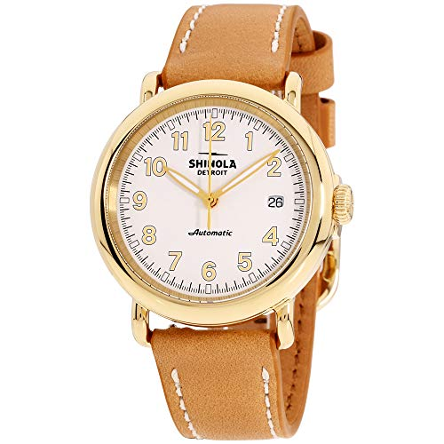 Shinola The Runwell Automatic Movement White Dial Unisex Watch S0120141488