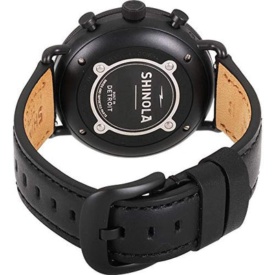 Shinola The Canfield Quartz Movement Black Dial Men's Watch S0120121828