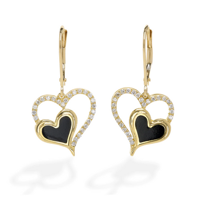 Hearts Embrace Earrings