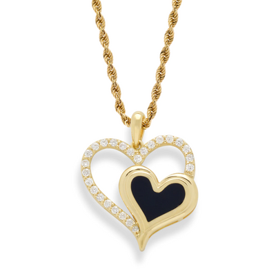 Hearts Embrace Pendant