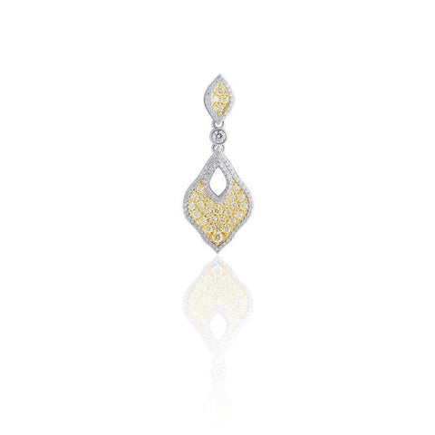 KARAH Orient Yellow Diamond Pendant