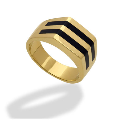 Double Channel Ring