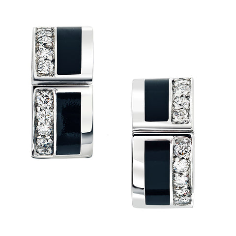 Sunrise Diamond Earrings Classic Collection
