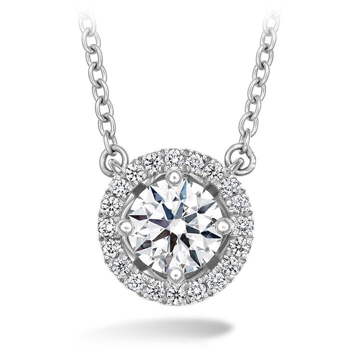 Joy Pendant in 18K White Gold
