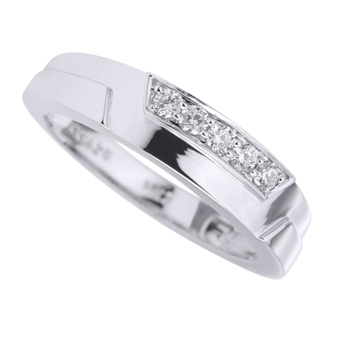 Men's 1/4Cts. Simple Diamond Band