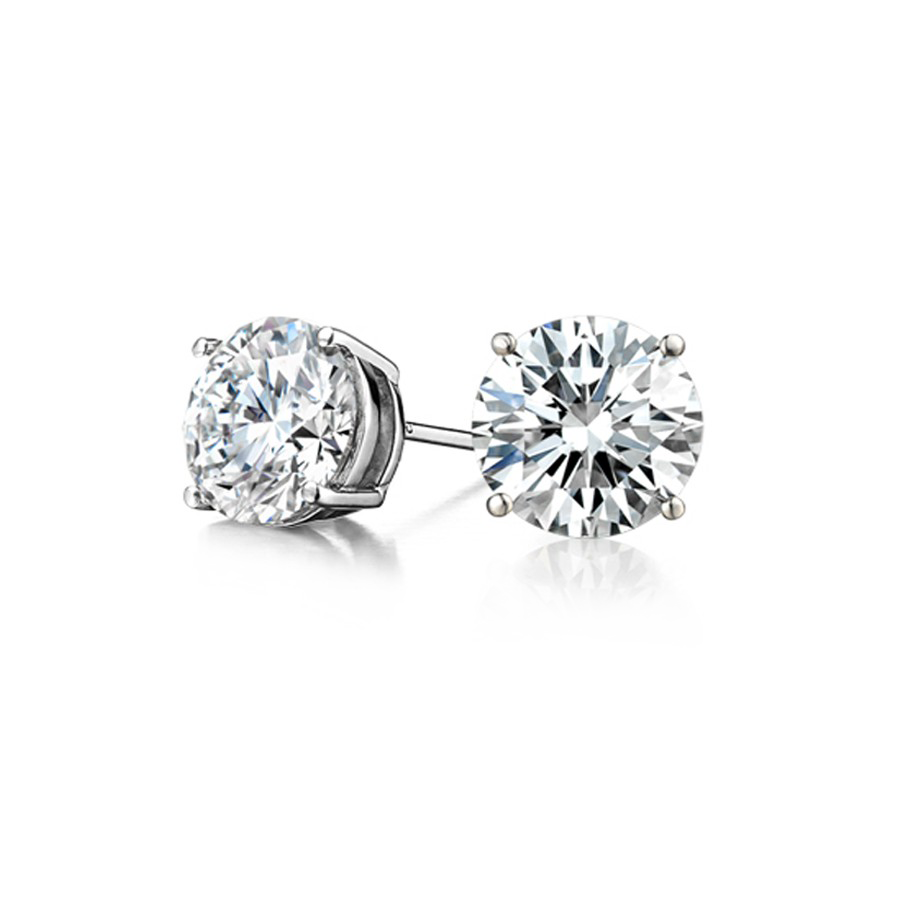 The Perfect Diamond Stud Earrings