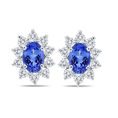 Tanzanite Miracle Earrings