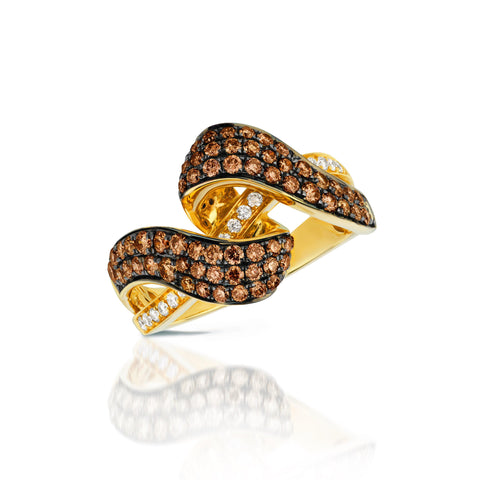 Le Vian Honey Gold with Chocolate & Vanilla Diamonds