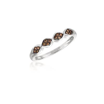 Le Vian Vanilla Gold Ring with Chocolate Diamonds
