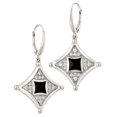 Parterre Diamond Earrings