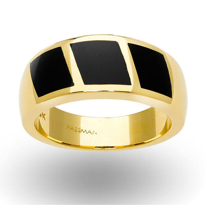 Triple Inlaid Ring