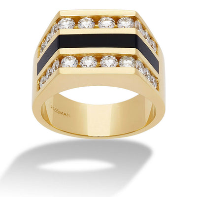 Diamond Sunset Ring