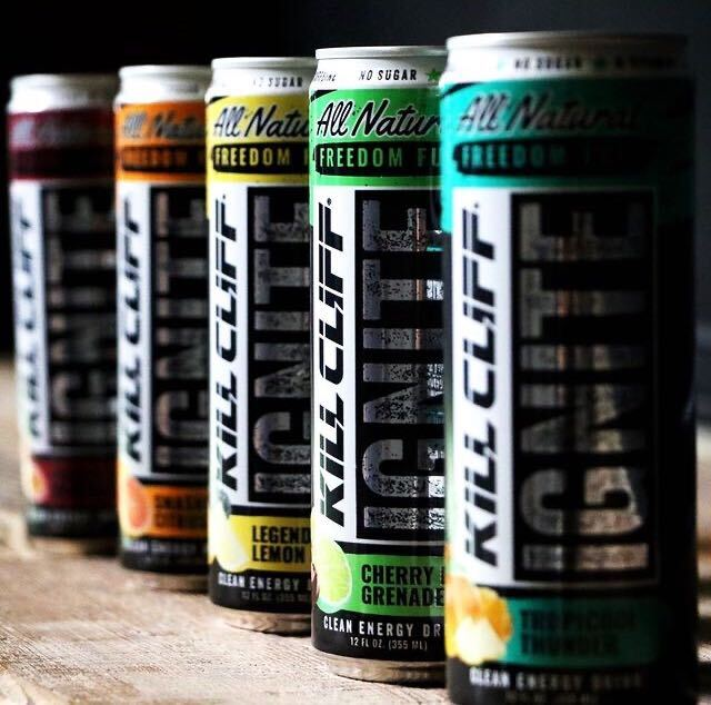 Kill Cliff Energy Drinks