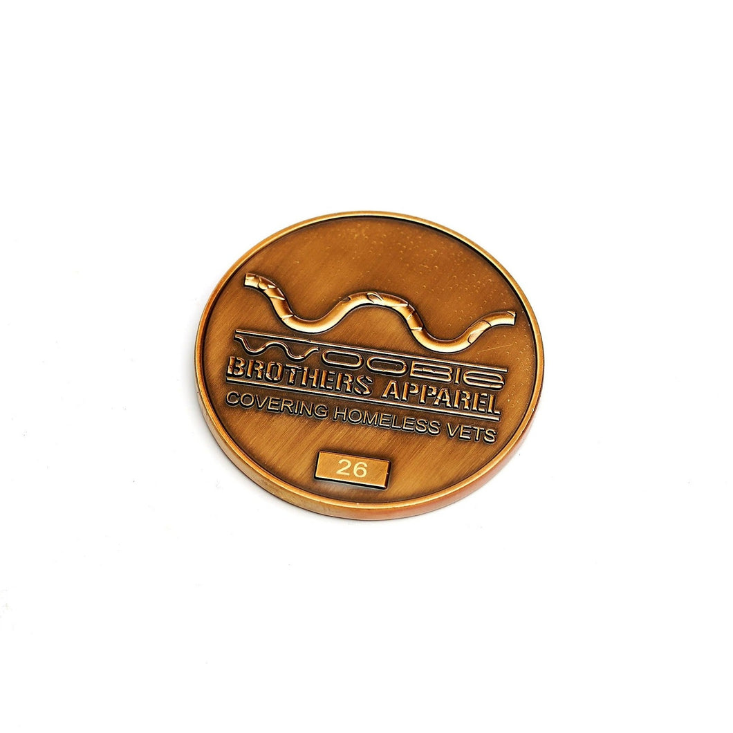 The Woobie Brothers Challenge Coin