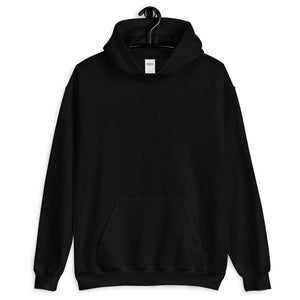 Unisex Heavy Blend Hoodie - BOP Style 3A-Black - Black & White - Bug Off Please!
