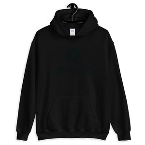 Unisex Heavy Blend Hoodie - BOP Style 2B-Black - Black & White - Bug Off Please!