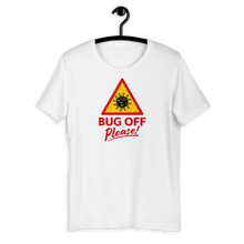 Load image into Gallery viewer, Mens Premium Tee - BOP style 1B - Bug Off Please!
