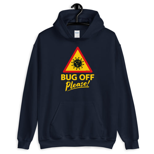 Unisex Heavy Blend Hoodie - BOP Style 1B - Bug Off Please!