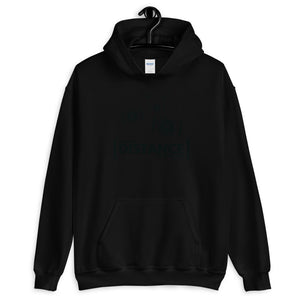 Unisex Heavy Blend Hoodie - BOP Style 2F-Black - Force - Black & White - SE - Bug Off Please!