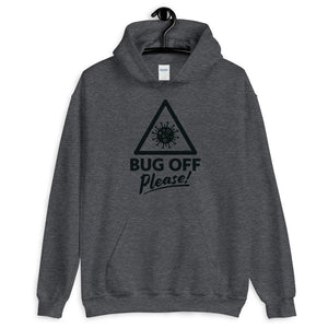 Unisex Heavy Blend Hoodie - BOP Style 1K - Gray Area - Bug Off Please!