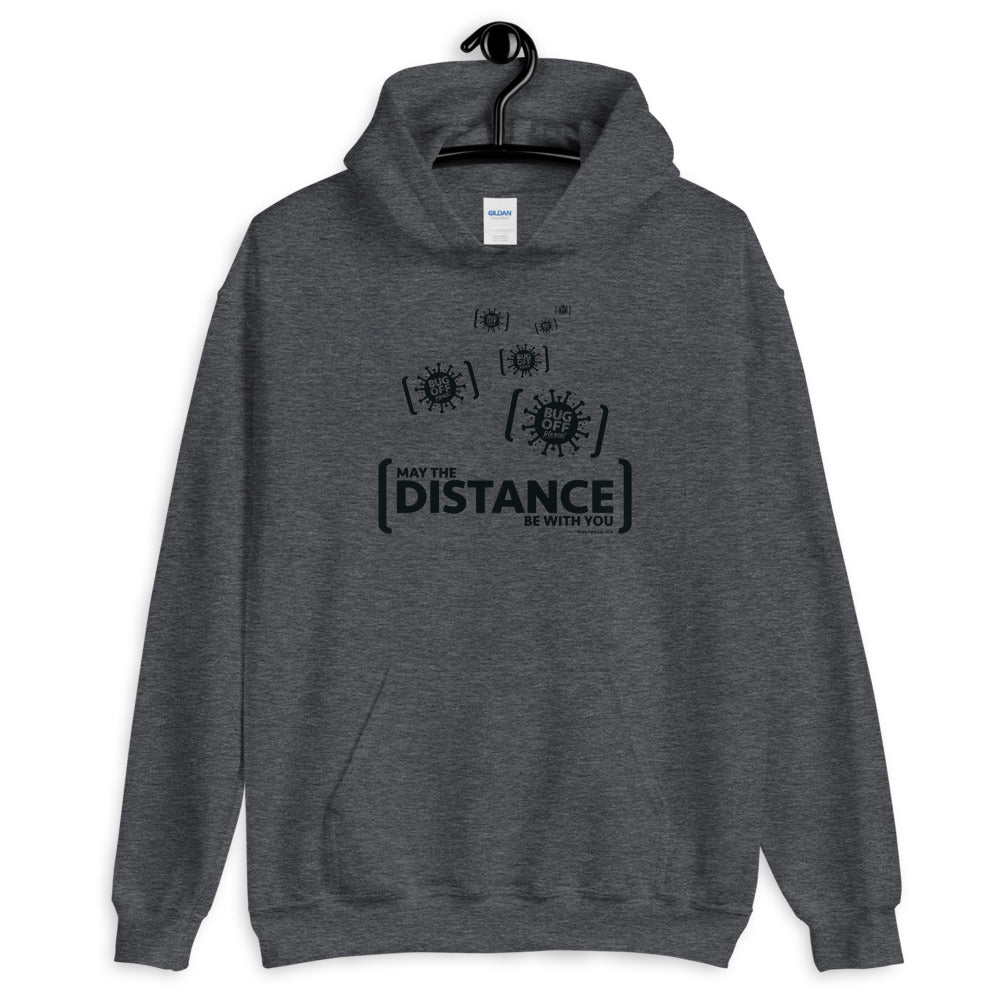 Unisex Heavy Blend Hoodie - BOP Style 2F-Black - Force - Gray Area - SE - Bug Off Please!