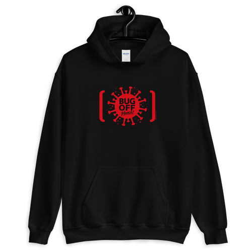 Unisex Heavy Blend Hoodie - BOP Style 2A-Red - Tee Fighter - It's a Trap - LE - Bug Off Please!