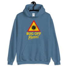 Load image into Gallery viewer, Unisex Heavy Blend Hoodie - BOP Style 1B - Bug Off Please!